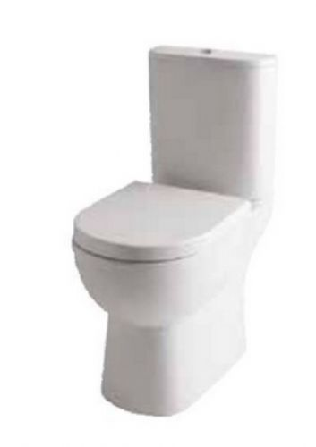 Eastbrook Farringdon (open back) Close Coupled Toilet & Soft Close Seat